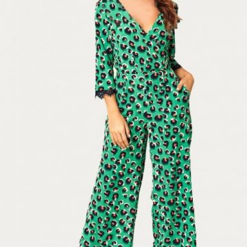 Leopard Print Backless Jumpsuit - Lunacy Boutique Mad About Fashion