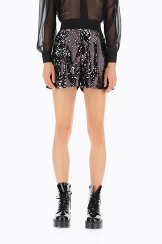Sequin disco cullotte shorts - Lunacy Boutique Mad About Fashion