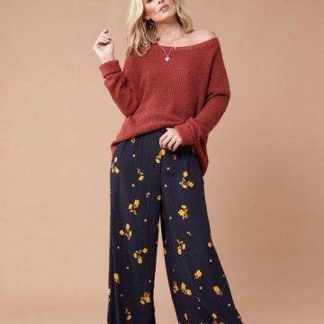 Golden Hour Wide Leg Trousers - Lunacy Boutique Mad About Fashion