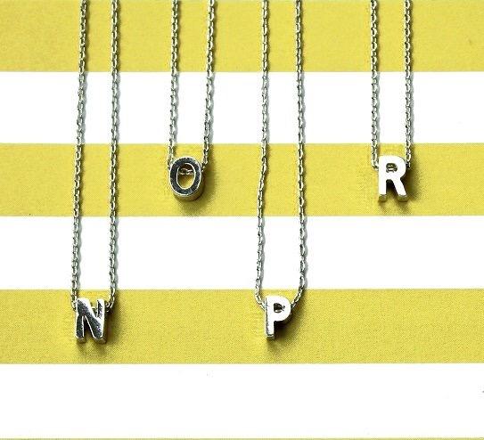 Initial Alphabet Necklace - Lunacy Boutique Mad About Fashion