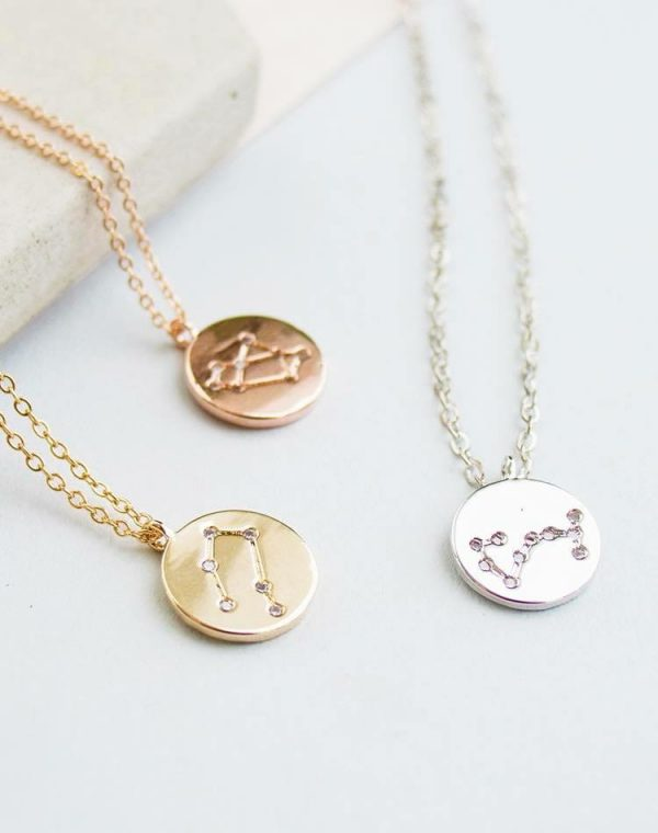 Constellation Zodiac Horoscope necklace - Lunacy Boutique Mad about Fashion