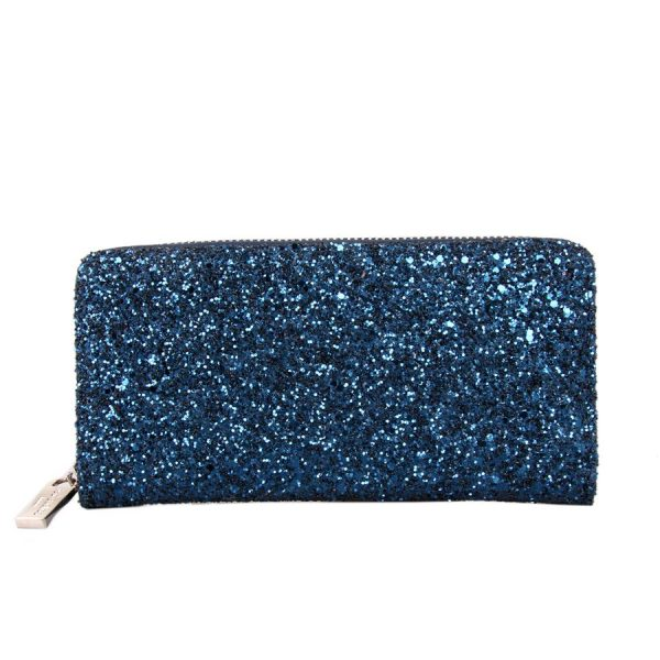 Hard Glitter Wallet - Lunacy Boutique Mad About Fashion