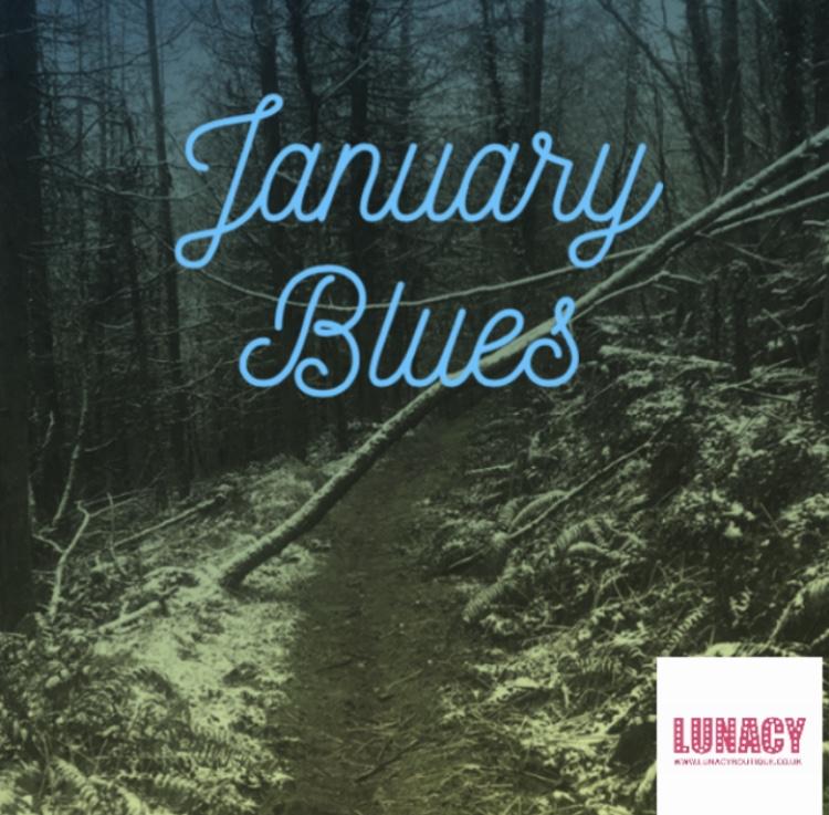 BLOG NO. 6 JANUARY BLUES - Fashion & Lifestyle Blog Lunacy Boutique