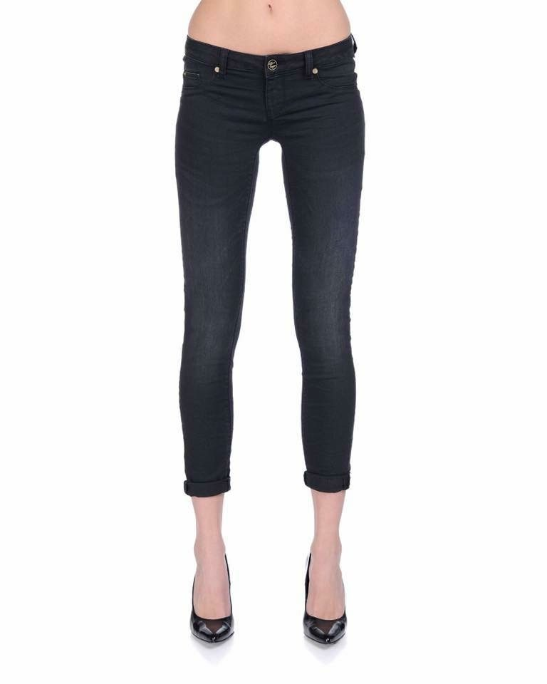 Black Silvian Heach Jeans - Lunacy Boutique Mad About Fashion