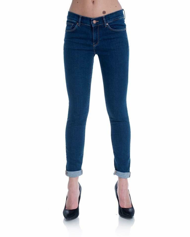 Alderisi Dark Wash Denim Jeans - Lunacy Boutique Mad About Fashion