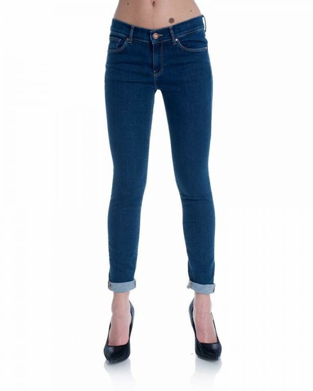 Alderisi Dark Wash Denim Jeans - Lunacy Boutique Mad About Fashion