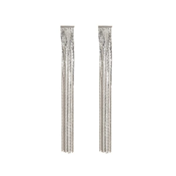 Fringe Long Earrings - Lunacy Boutique Mad About Fashion